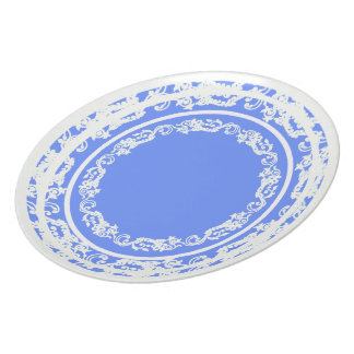 Table-Statements (c)REVIS-Periwinkle_Lace_Everyday Party Plate