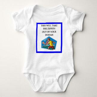 table tennis baby bodysuit
