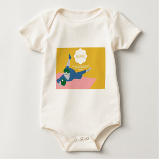 Table Tennis Barb Baby Bodysuit