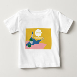 Table Tennis Barb Baby T-Shirt