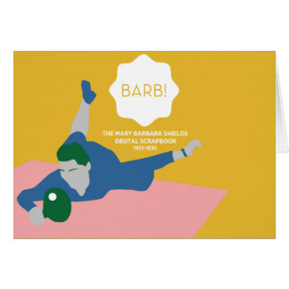 Table Tennis Barb Card