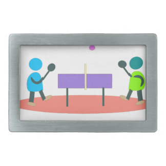 table tennis belt buckle