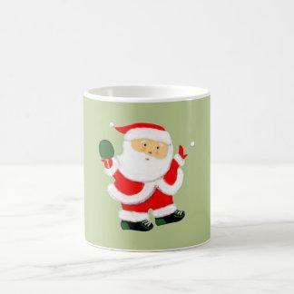 Table Tennis Christmas Coffee Mug