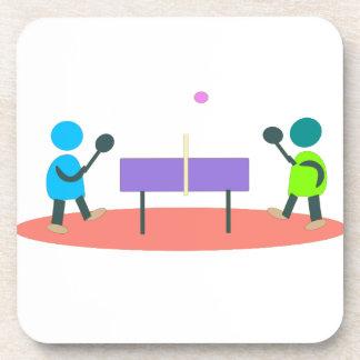table tennis coaster
