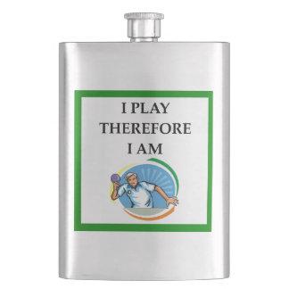 table tennis hip flask