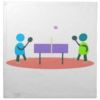 table tennis napkin