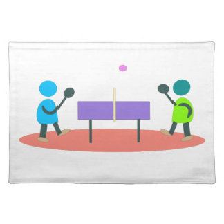 table tennis placemat
