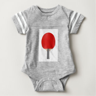 Table tennis racket baby bodysuit