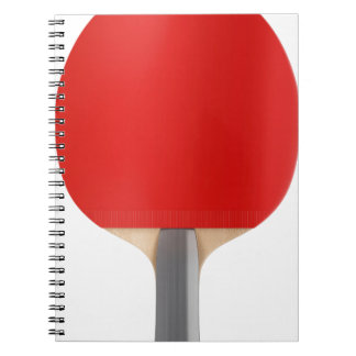 Table tennis racket notebooks