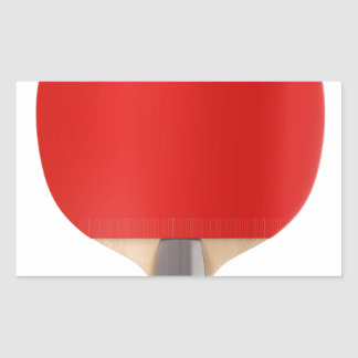 Table tennis racket sticker