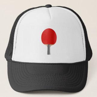 Table tennis racket trucker hat