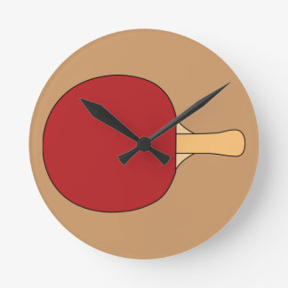 Table Tennis Racquet Clock