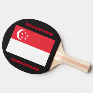 Table Tennis Singapore Team Paddle Ping Pong Paddle