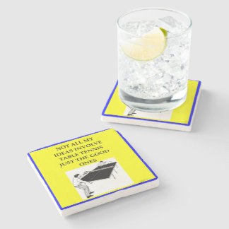 table tennis stone coaster