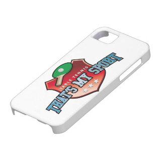 table tennis - that s my sport iPhone 5 hüllen