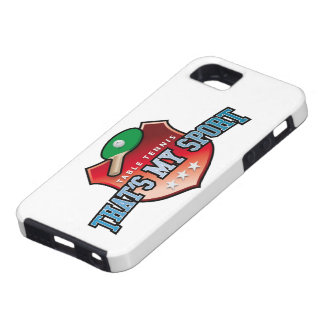 table tennis - that s my sport iPhone 5 etui
