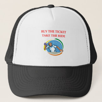 table tennis trucker hat