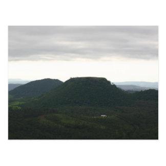 Table Top Mountain Toowoomba Postcard
