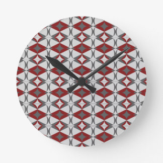 table towel round clock