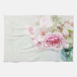 """Table-ware cloth """"shabby rose """" hand towel"""