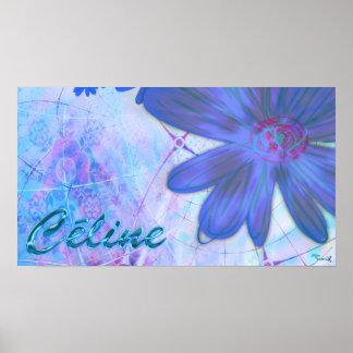 Tableau Céline Affiche