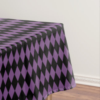 "Tablecloth ""60x84"" -Halloween Harlequin Diamonds"
