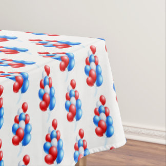 "Tablecloth ""60x84"" July 4th Balloons"