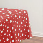 "Tablecloth ""60x84"" Polka Dots"