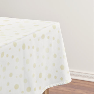 "Tablecloth ""60x84"" Polka Dots"