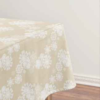 "Tablecloth ""60x84"" Snowflakes"
