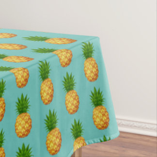 "Tablecloth ""60x84"" Tropical Pineapple"