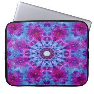 Tablecloth dewdrops... laptop sleeve