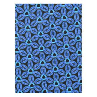 Tablecloth Jimette blue and black Design