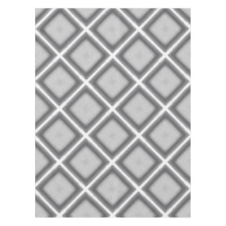 Tablecloth Jimette Design with gray and white