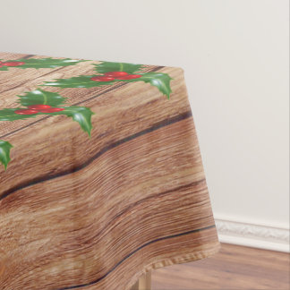 Tablecloth mistletoe