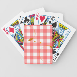 Tablecloth Ring Stains Bicycle Playing Cards