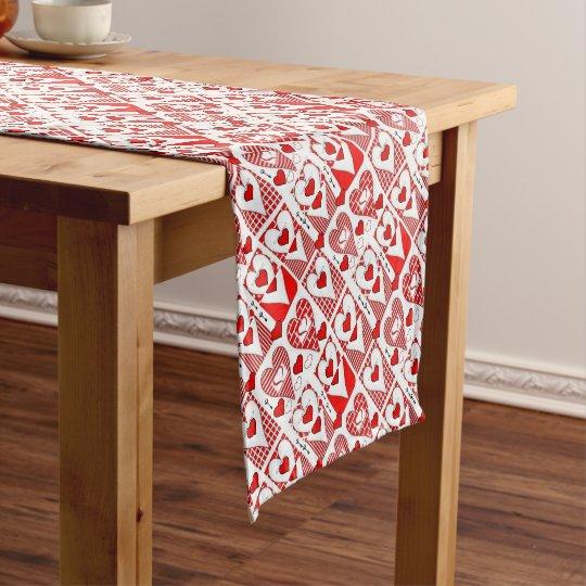 Tablecloth Runner Valentines