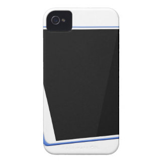 Tablet computer on white Case-Mate iPhone 4 case