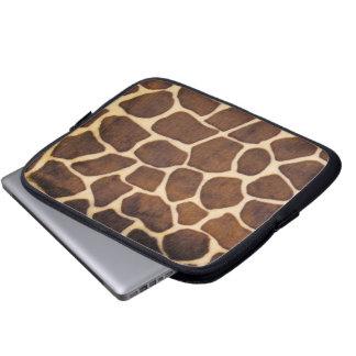 Tablet & Laptop Sleeve - Giraffe Fur