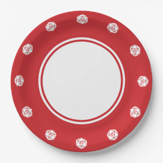 Tabletop Chic in Cherry Paper Plate 9 Inch Paper Plate