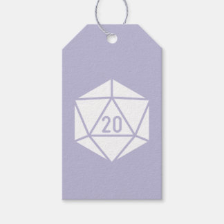 Tabletop Chic in Lavender Gift Tag Pack Of Gift Tags
