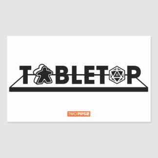 Tabletop Design Sticker