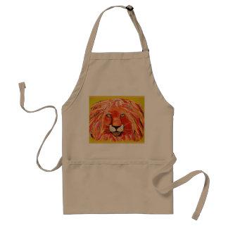 Tablier coloré et frais de lion