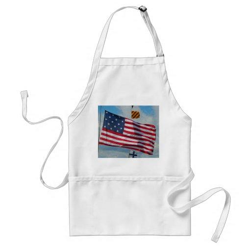 Tablier de drapeau d'étoile des Etats-Unis 15