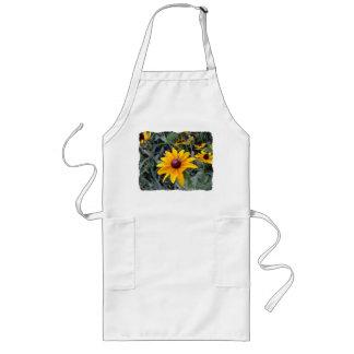 Tablier de jardinage blanc Noir-Eyed de Susan