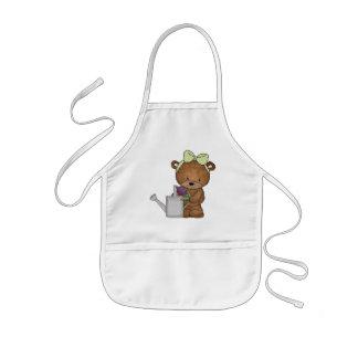 Tablier de jardinage d ours