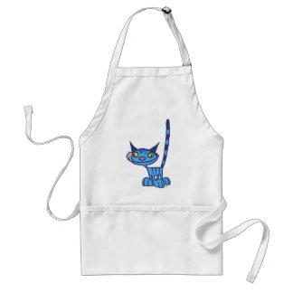 Tablier frais de cuisine de bande dessinée de chat