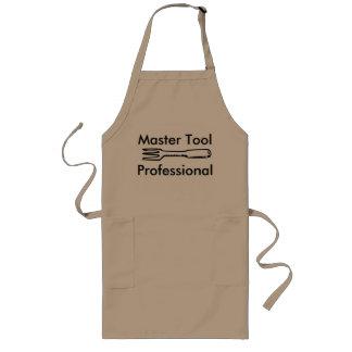 Tablier professionnel de cuisine d'outil principal