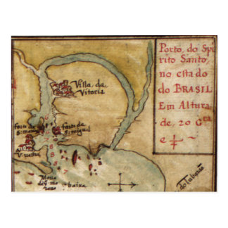 Taboas geraes of all the navigation (1630) postcard