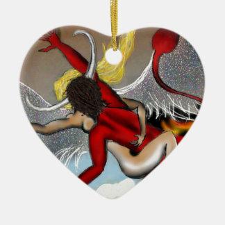 Taboo Rapture Ceramic Heart Ornament